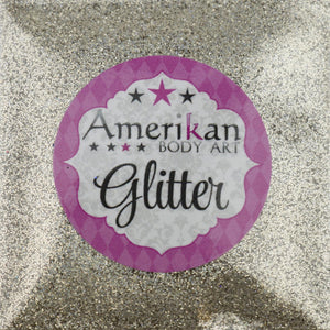 Amerikan Body Art Face Painting Glitter (Cosmetic Grade)- Sparkling hollographic Champagne Gold