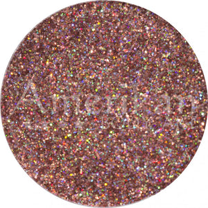 Amerikan Body Art Face Painting Glitter (Cosmetic Grade)- Holographic Rose Gold