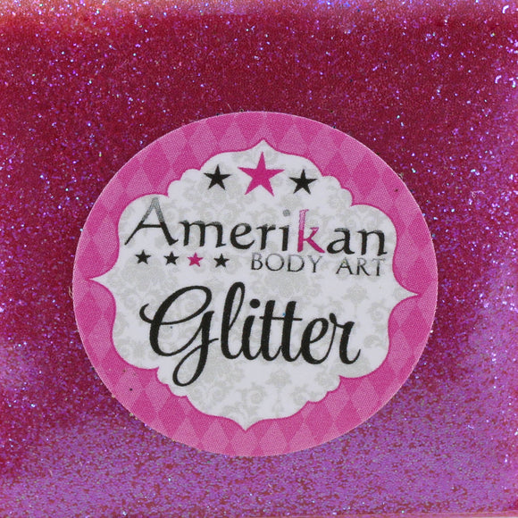 Amerikan Body Art Face Painting Glitter (Cosmetic Grade)- Punk Rock Pink