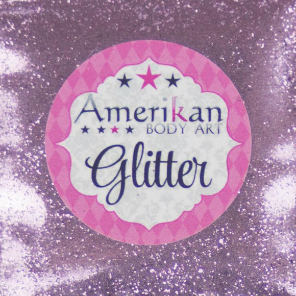 Amerikan Body Art Face Painting Glitter (Cosmetic Grade)- Cotton Candy