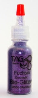 TAG Bioglitter 15ml Puffer Bottel 15ml- Fuschia Purple