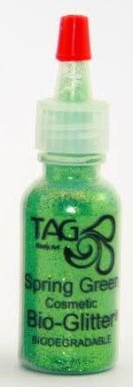 TAG Bioglitter 15ml Puffer Bottel 15ml- Spring Green