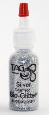 TAG Bioglitter 15ml Puffer Bottle 15ml- Silver