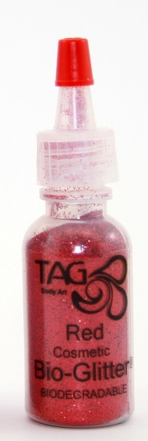 TAG Bioglitter 15ml Puffer Bottle 15ml- Red