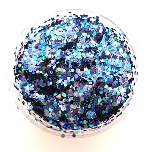 Face Painting Store UK Chunky Loose Glitters- 10g jar- Supanova Mix