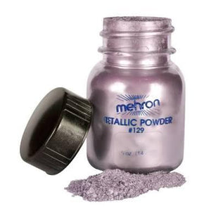 Mehron High pigmented Metallic Powders 1 oz-  Lavender