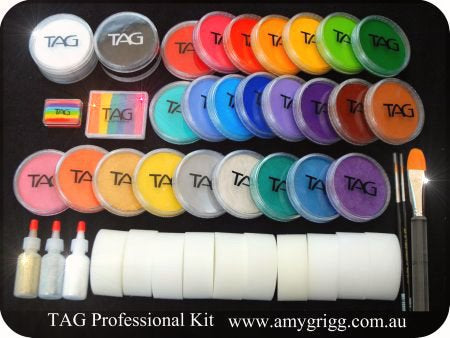 TAG Professional Face Painters Kit