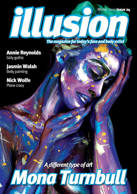 Illusion Face and Body Art Magazine Issue 24