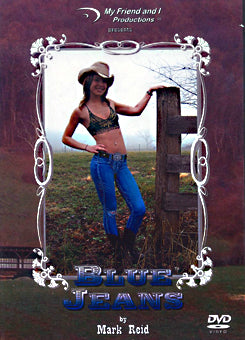Mark Reid Body Painting Instructional DVD- Blue Jeans