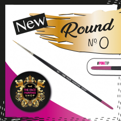Face Painting Shop Uk Round Brush #0