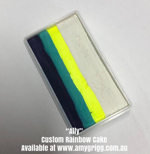Amy's Collection- One Stroke Rainbow Cake- Ally 30g