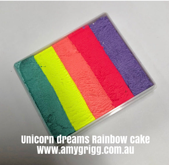 Unicorn Dreams Rainbow Cake 50g