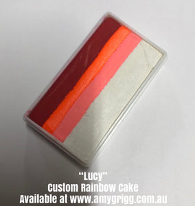 Amy's Collection- One Stroke Rainbow Cake- Lucy  30g