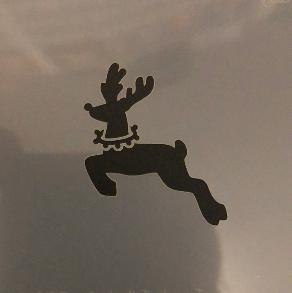 Face painting stencil- Reindeer