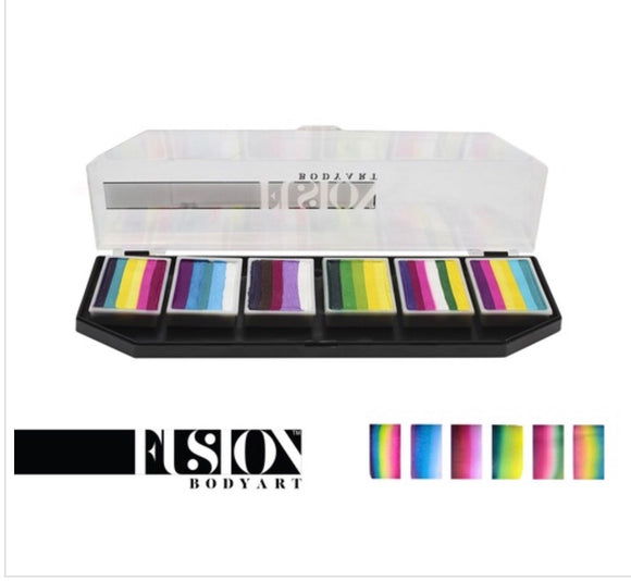 Fusion pretty rainbow palette by Leanne courtney