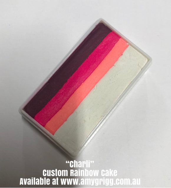 Amy's Collection- One Stroke Rainbow Cake- Charli 30g