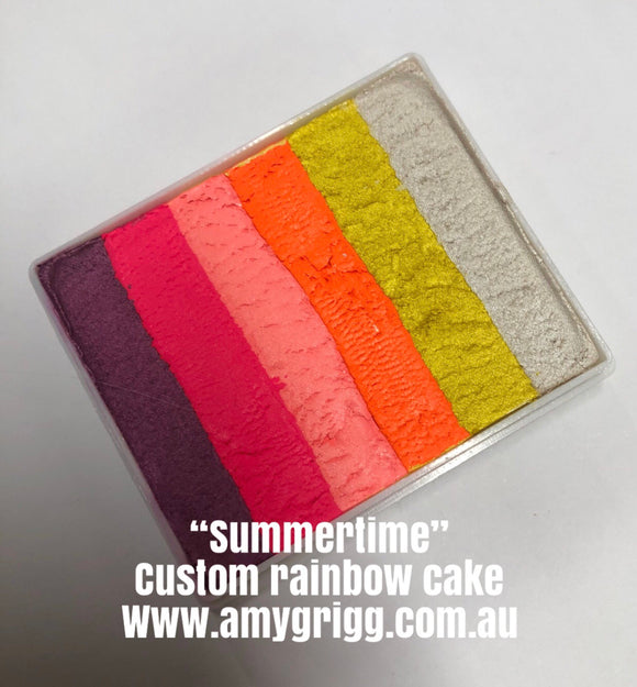 Summertime Rainbow Cake by Amy 50g