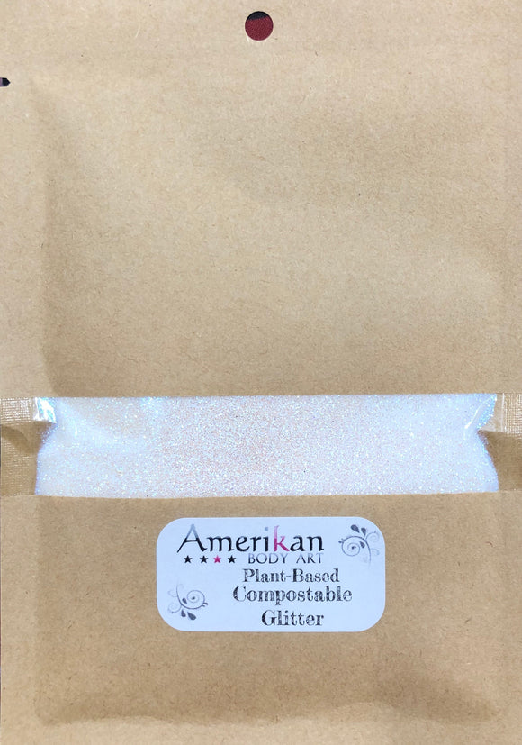 Amerikan Body art Plant based Compostable glitter- 1 oz bag