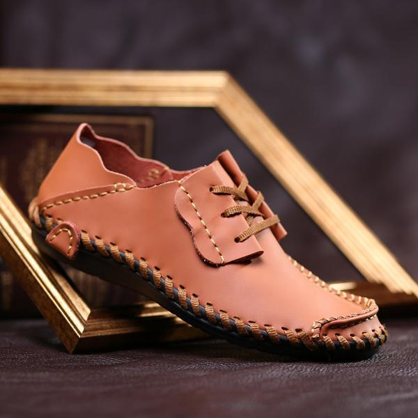 Shoes - New Genuine Leather Mens Comfortable Loafers(Buy One Get One 30% OFF)