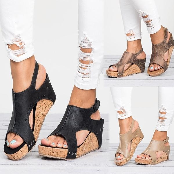 Shoes - Women's Wedge Sandals Summer Casual Shoes(Buy 2 Got 10% off, 3 Got 20% off Now)