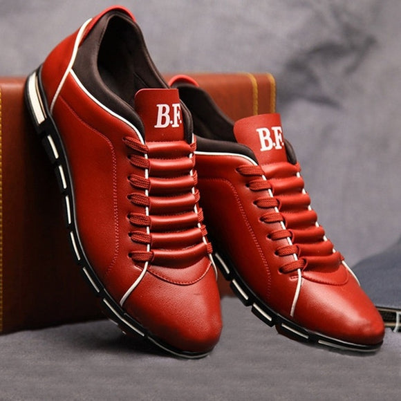 Shoes - New England Male Breathable Leather Casual Shoes(Buy One Get One 20% OFF)