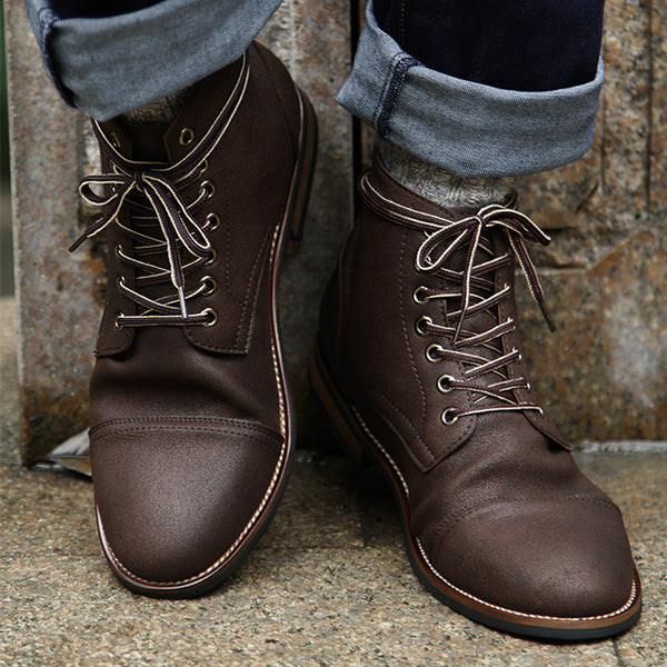 6eb25ac63a01d9 Shoes - High Quality Men s Vintage British Style Martin Boots – Kaaum