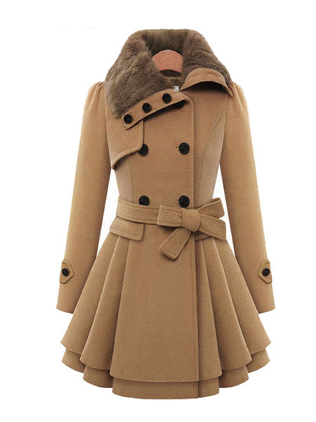 Women's Clothing - Winter Women Warm Coat Windbreaker(Buy 2 Got 10% off, 3 Got 20% off Now)