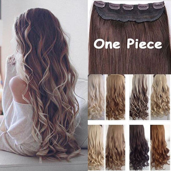 Hair Extensions - 2019 New Fashion Looks Natural Clip in Hair Extensions