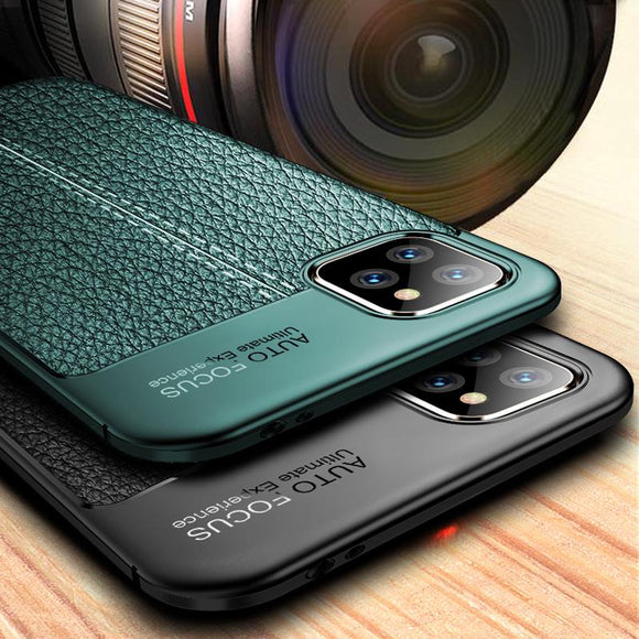 Kaaum Shockproof Silicon Bumper Litchi Leather Case For iPhone(Buy 2 Get 10% OFF,Buy3 Get 15% OFF)