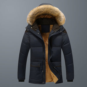 Kaaum Autumn Winter Men's Thickening Cotton Jacket(Buy 2 Got 10% off, 3 Got 20% off Now)