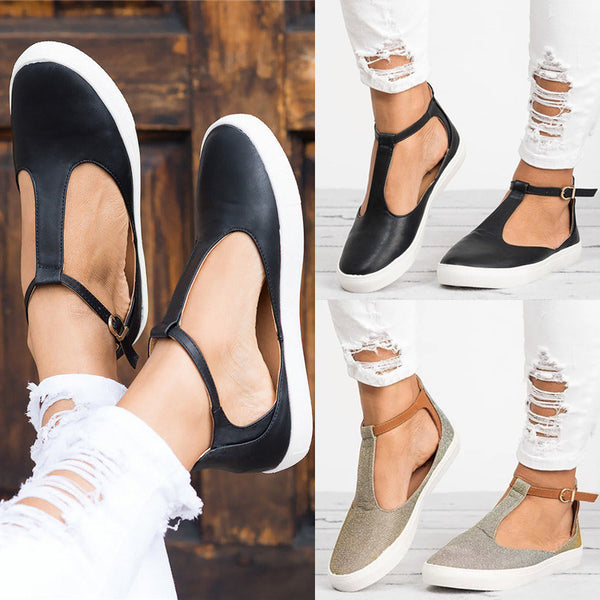 Shoes - 2018 New Arrival Ladies Round Toe Flat Shoes