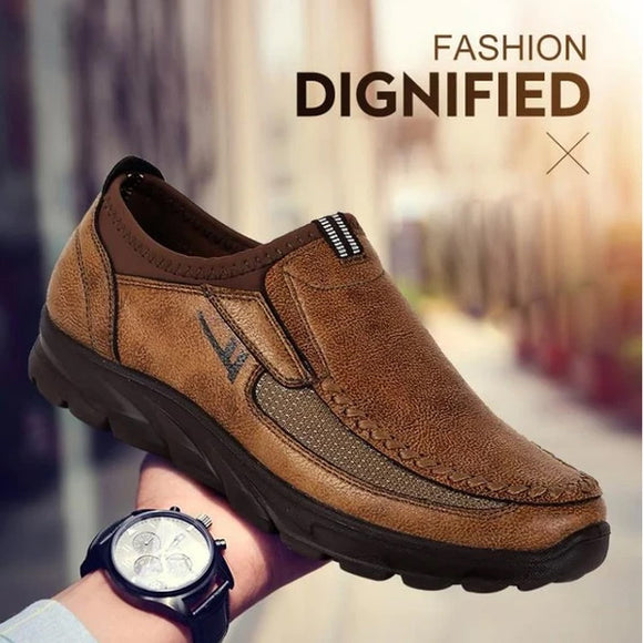 2020 Kaaum Design Men Genuine Leather Outdoor Comfy Shoes