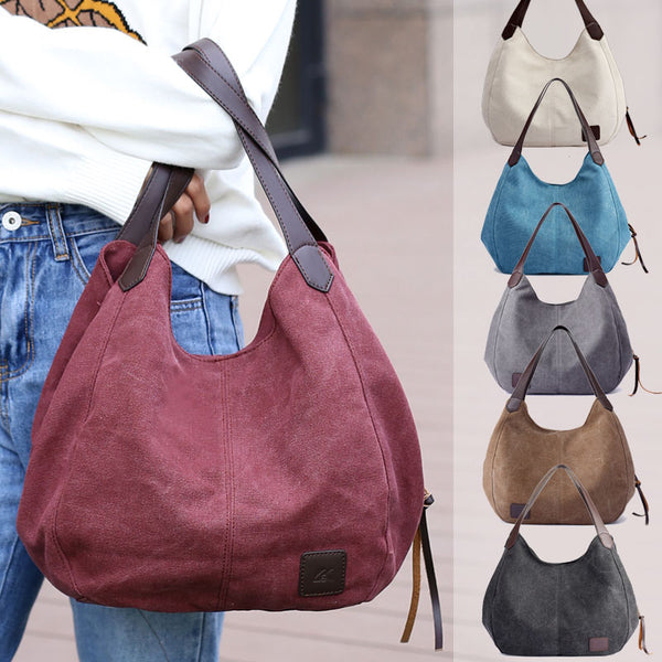 Bag - Fashion Multi-compartment Casual Hobo Bag