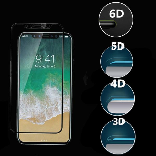 6D Cold Carving Etched Curved Tempered Glass For iphone  X Xr Xs Max 7 8 6S/Plus (Extra Discount:Buy 2 Got 10% OFF, 3 Got 20% OFF,4 Got 30% OFF )