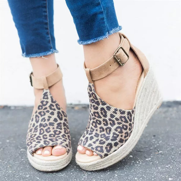 Shoes - 2018 Summer Women Chic Espadrille Wedges Platform Sandals