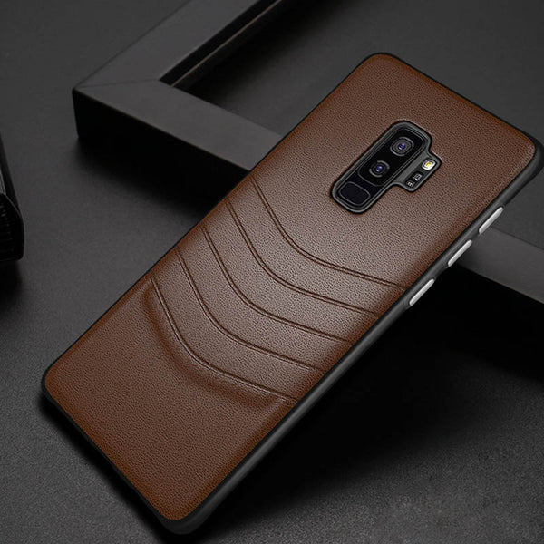 Phone Case - Luxury Ultra Thin Leather + PC Case For Samsung Note 9/8 S9  S8/Plus