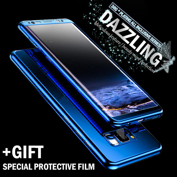 Phone Case - Bling Mirror 360 Full Protection Cover For Samsung Note 9/8 S9 S8/Plus S7 S7Edge ( Buy One Get One 20% Off )