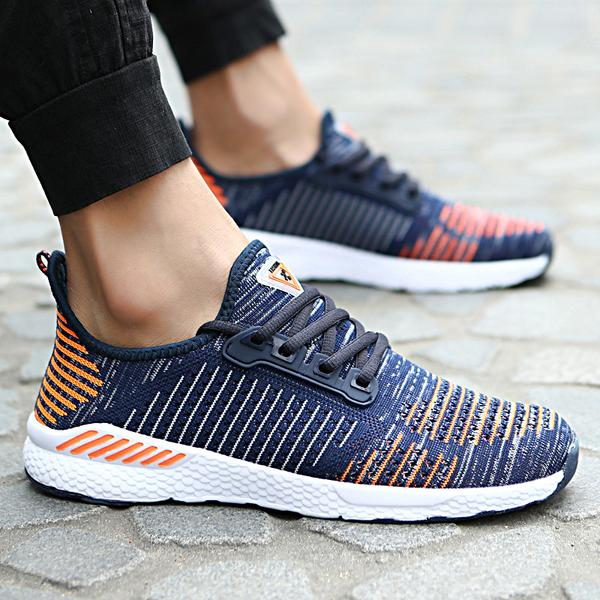 Shoes - Outdoor Breathable Mesh Light Shoes Jogging Sneakers