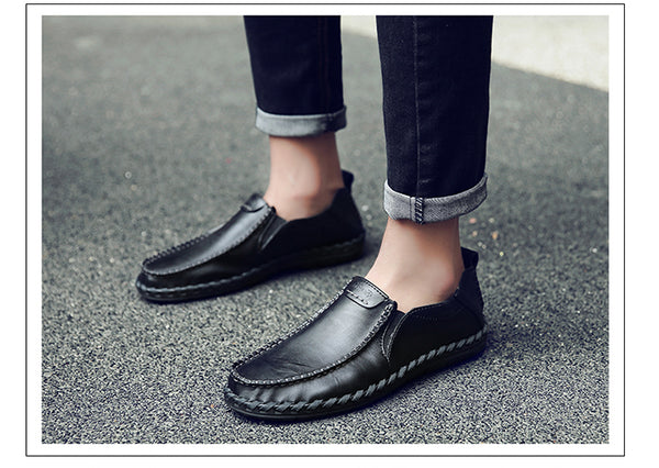Shoes - New Fashion Men's Cow Split Leather Shoes