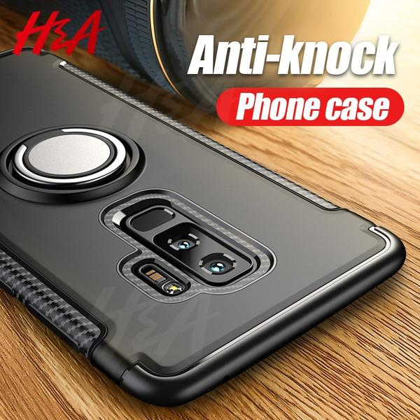 official photos 7a957 a5aaa Phone Accessories - Luxury Shockproof Armor Cover Ring Holder Phone Case  For Samsung Galaxy S9 S8 Plus Note 8 9