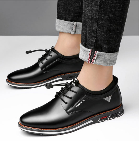 Men's Fashion Leather Moccasins Driving Shoes
