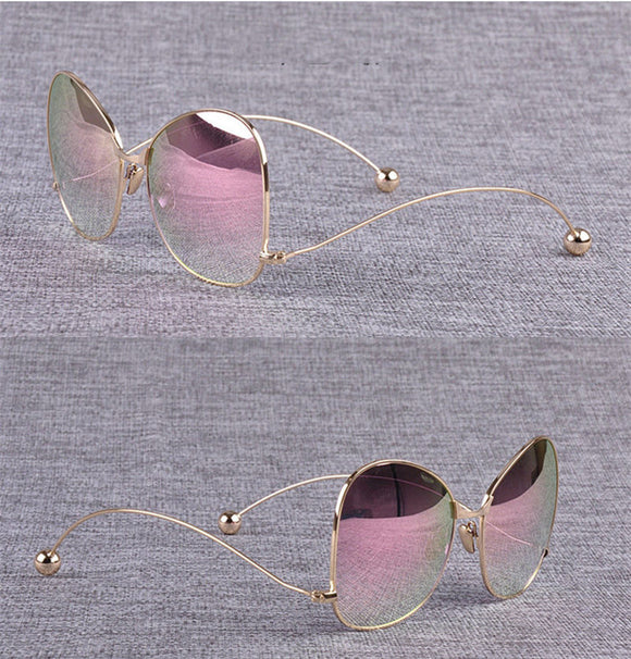 Sunglasses - Luxury Women's Oversize Mirror Sunglasses(BUY ONE GET ONE 20% OFF)