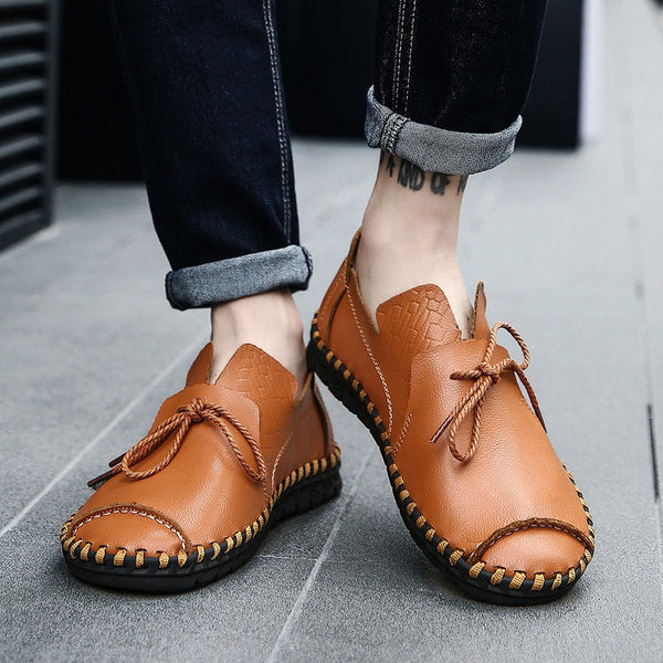 Shoes - 2018 Men's Soft Genuine Leather Casual Shoes