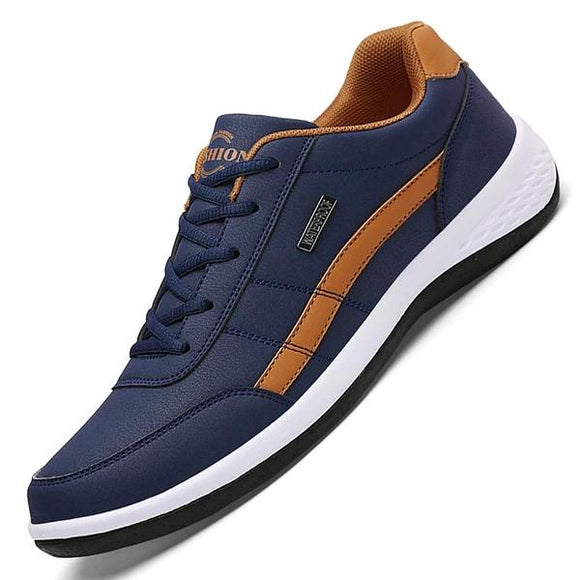 Kaaum Luxury Brand Fashion Trendy Men's Leather Casual Shoes(Buy 2 Get 10% OFF, 3 Get 15% OFF)