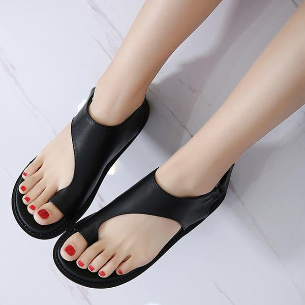 Shoes - Women's Comfort Soft Thick Bottom Platform Sandals