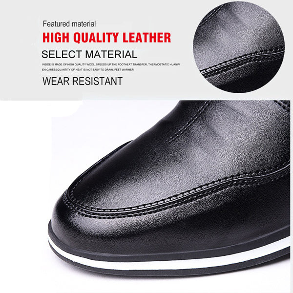 British Style Men's Leather Casual Shoes