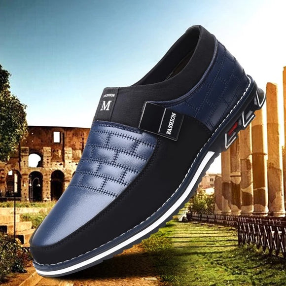 Shoes - New Arrival Fashion Men's Business Leather Casual Slip On Shoes(Buy 2 Get 10% off, 3 Get 15% off Now)