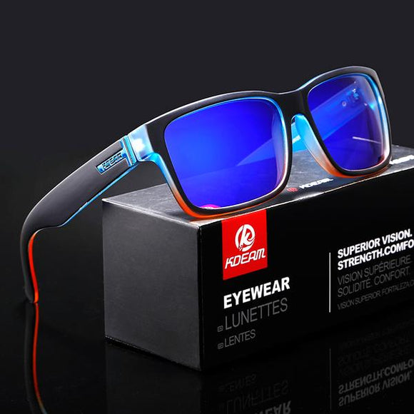 Sunglasses - Trending Shocking Colors Sport Polarized Sunglasses