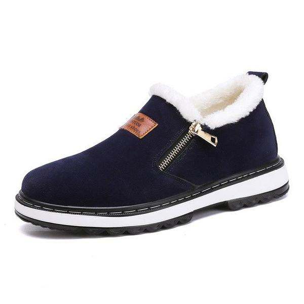 Shoes - 2019 Men's Warm Short Plush Casual Fur Boots