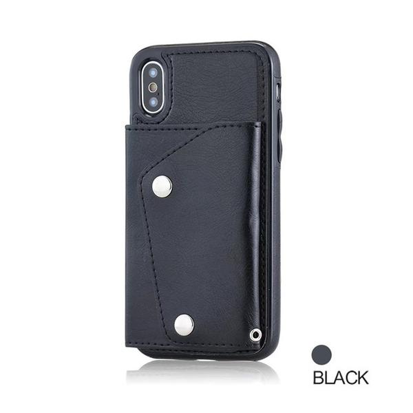 2018 New arrival Wallet Flip PU Leather Case For iPhone
